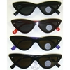 CAT EYE SHAPE SHIELD STYLE SUNGLASSES