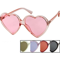 HEART SUNGLASSES IN ASSORTED COLORS