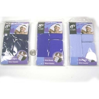 3 SHADES OF BLUE SWEATBAND SETS