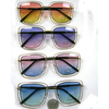 OCEAN LENS, DOUBLE RIM RECTANGLE SHAPE FRAMES SUNGLASSES