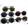 ROUND FLAT-FUNKY FRAMES SUNGLASSES WITH REVO & MIRROR LENSES