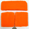 NEON ORANGE COLOR SWEATBAND SET