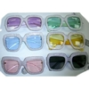 SILVER FLASH LOOK FRONT, COLORFUL SUNGLASSES AND LENSES