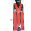 RED SUSPENDERS, 1 INCH WIDE,