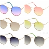 OCEAN LENS, GOLD METAL FRAMES, COOL SHAPE