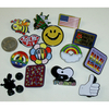 ENAMEL ASSORTED PINS, DOUBLE BACKINGS, BAKERS DOZEN(3 PC FREE)