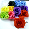 FLOWER LARGE HAIR CLIPS ASSORTED COLORS