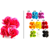 2 SMALL HAIR CLIPS PER CARD ASSORTED COLORS, LIMITED STOCK