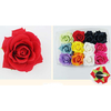 FLOWER HAIR CLIP, ASSORTED COLORS