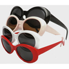 JACKIE O/COBAIN STYLE SUNGLASSES A BIT SMALLER 4 COLORS