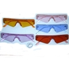 SMALL SHIELD STYLE SUNGLASSES IN ASSORTED COLORS