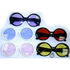 JACKIE O RETRO LOOKING FRAMES WITH COLOR LENSES