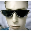 RHINESTONE LINED LOWER PORTION FUNKY FRAMES SUNGLASSES