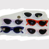 CAT SHAPE CUTE SUNGLASSES, 5 COLORS, DARK LENS