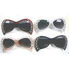 CAT SHAPE SUNGLASSES WITH RHINESTONES IN 2 SIZES