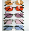 BEN FRANKLIN/RECT LENNON SUNGLASSES IN ASSORTED COLORS