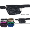 IRIDESCENT  ASSORTED COLORS SHINY FANNY PACKS