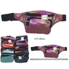 IRIEDESCENT GLITTER EFFECT FANNY PACKS IN MANY COLORS