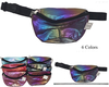 IRIDESCENT/GLITTER EFFECT  FANNY PACKS