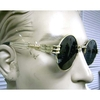 LENNON SIZE FLAT SHAPE  LENSES COLORS -ASST,   FUNKY METAL ARMS