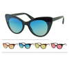 CAT SHAPE, COLOR LENSES SUNGLASSES