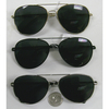 AVIATOR SUNGLASSES. SPRING TEMPLE QUALITY, DARK LENSE