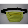 YELLOW FANNY PACK, 2 ZIPPERS