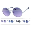 LENNON STYLE SUNGLASSES, WITH DARK FADING LENSES 2 LINES CROSS