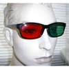 RED/GREEN LENS BLACK FRAMES SUNGLASSES LOW RIDER STYLE FRAMES