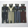 4 COLORS FALL COLORS SUSPENDERS, ASSORTED