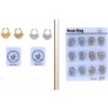NOSE SEPTUM RINGS , 2 PIECE PER BAG