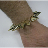 LARGE GOLD SPIKE STRETCH ON BRACELET