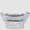 SILVER IRIDESCENT FANNY PACKS