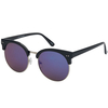 LARGE SOHO ROUND SHAPE MOSTLY REVO LENS  SUNGLASSES