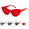CAT SHAPE FRAMES CLASSIC SUNGLASSES, NICE COMBINATIONS OF COLORS