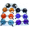 LENNON SUNGLASSES, COLOR, DARK & MIRROR LENSES, SPRING TEMPLE QU