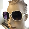 WHITE FRAMES RETRO LOOK  SUNGLASSES, ONLY 1 DZ IN STOCK