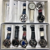 10 SPINNER WATCHES IN ASSORTED FACE AND BAND