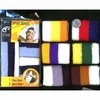 3 STRIPE SWEATBAND SET: 1 HEADBAND AND 2 WRISTBANDS