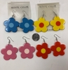 DAISY SHAPE EARRING 3 COLORS