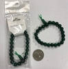 GREEN GLASS POWER BRACELETS