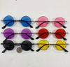 JOHN LENNON STYLE SUNGLASSES COLOR LENS SPRING TEMPLE QUALITY