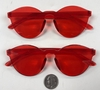 ALL RED COLOR  INJECTION MOLD SUNGLASSES