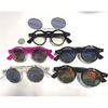 FLIP UP, REVO LENS, LENNON/STEAMPUNK LOOK SUNGLASSES