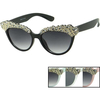 GEM LINED TOPCAT STYLE FRAMES SUNGLASSES