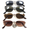 JOHN LENNON RECTANGLE VERSION, DARK LENSES SUNGLASSES