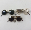 FLIP-UP ROUND METAL JOHN LENNON STYLE SUNGLASSES