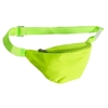 NEON YELLOW FANNY PACK, 1 ZIPPER