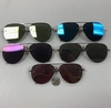AVIATOR STYLE LOOKING REVO FRAMELESS LOOK SUNGLASSES
