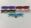 THIN RETRO CAT SHAPE FRAMES IN ASSORTED COLORS SUNGLASSES